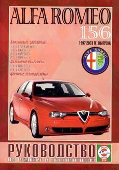 Перечень предохранителей и реле Alfa Romeo 156 с 1997-2003 год выпуска