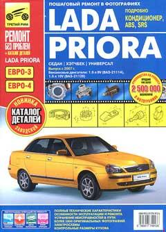 Схема электрических соединений правой передней двери автомобиля LADA Priora (ВАЗ-2170)