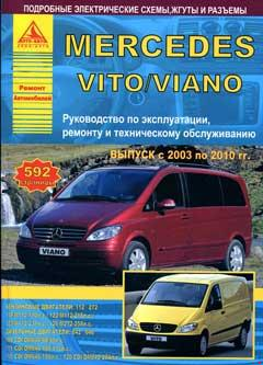 Схемы электрооборудования MERCEDES VITO / VIANO 2003-2008