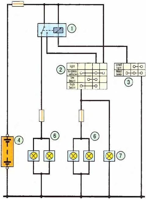 Схемы электрооборудования Great Wall Deer / Safe (2001-2009)