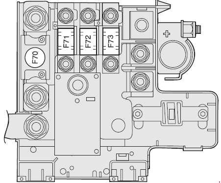 alfa romeo 159 fuse box diagram  u00bb fuse diagram Green Alfa Romeo 156 Alfa Romeo 154
