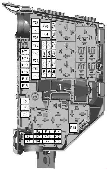 07-'14 Ford Mondeo 4 Fuse Diagram | Ford Mondeo Titanium X Fuse Box |  | knigaproavto.ru