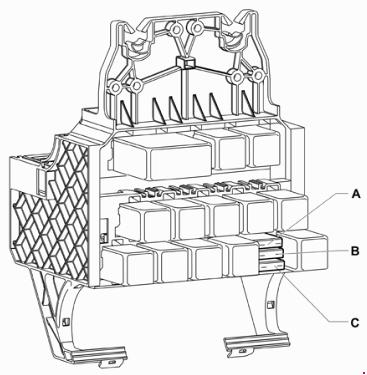 2004-2009 Volkswagen Fox Fuse Box Diagram