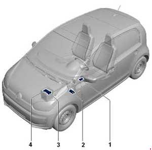 volkswagen up fuse box diagram fuse diagram rh knigaproavto ru vw up fuse box layout vw up fuse box