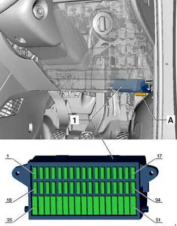Volkswagen Up! Fuse Box Diagram