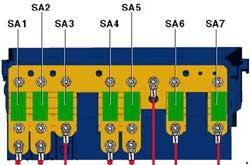 Схема предохранителей и реле Volkswagen Passat B7 (2010-2015)