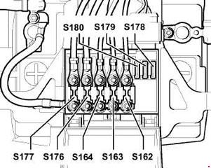 1999-2006 Volkswagen Golf IV / Bora Fuse Box Diagram