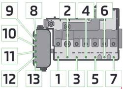skoda roomster fuse box diagram  u00bb fuse diagram