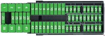Skoda Rapid and Skoda Rapid Spaceback Fuse Box Diagram