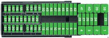 skoda rapid and skoda rapid spaceback fuse box diagram rh knigaproavto ru skoda rapid 2015 fuse box diagram skoda rapid fuse box layout