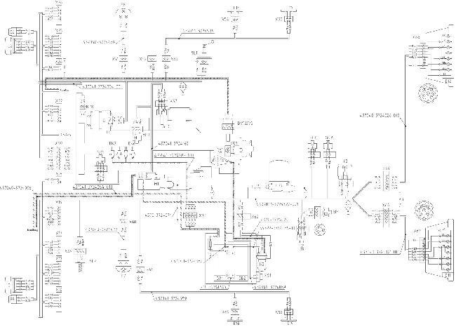 Схемы электрооборудования МАЗ-437043 с двигателем ММЗ