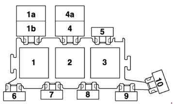 1997 s6  rs6  allroad  c5  fuse box diagram