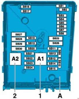 volkswagen caddy 2010 2014 fuse box diagram fuse diagram rh knigaproavto ru 2012 Volkswagen Jetta Fuse Box Diagram 2011 Jetta Fuse Box Diagram