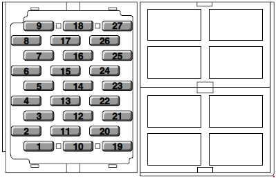 mg zr fuse box diagram