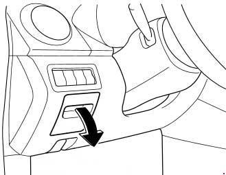 Схема предохранителей Mazda CX-7 (рестайлинг)