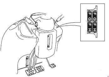 JCB 3CX / 4CX fuse box diagram