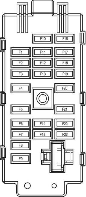 [XOTG_4463]  00-'06 Chevrolet Epica / Evanda Fuse Box Diagram | Chevrolet Epica Fuse Box Location |  | knigaproavto.ru