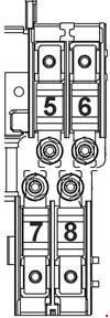 Схема предохранителей и реле Chevrolet Orlando (J309)