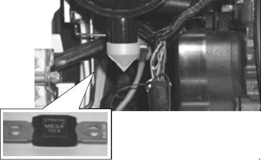 Схема предохранителей и реле Bobcat S175