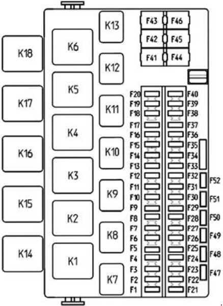 Лада гранта монтажный блок схема