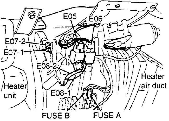 hyundai porter  h100  au  fuse box diagram  1996