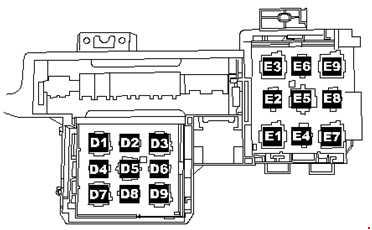 2005-2010 Volkswagen Touareg Fuse Box Diagram