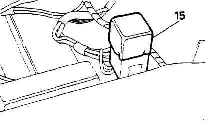 Схема предохранителей и реле Range Rover Classic (1987-1991)