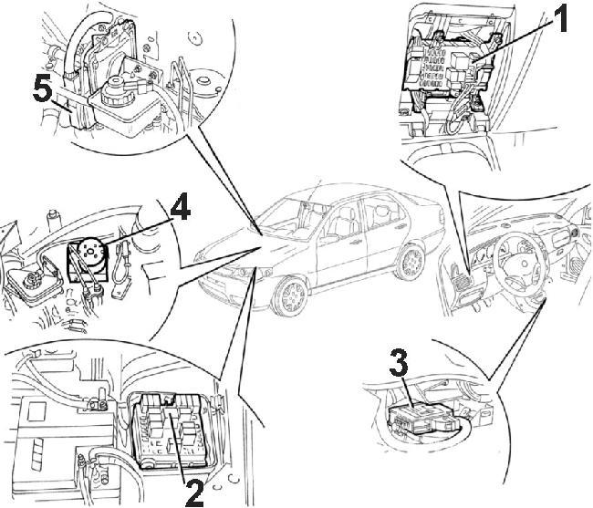 Схемы двигателя на фиате альбеа