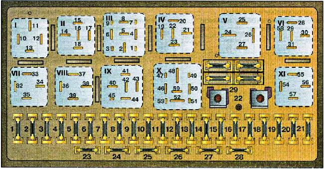 1986 90  B3  Fuse Box Diagram  U00bb Fuse Diagram