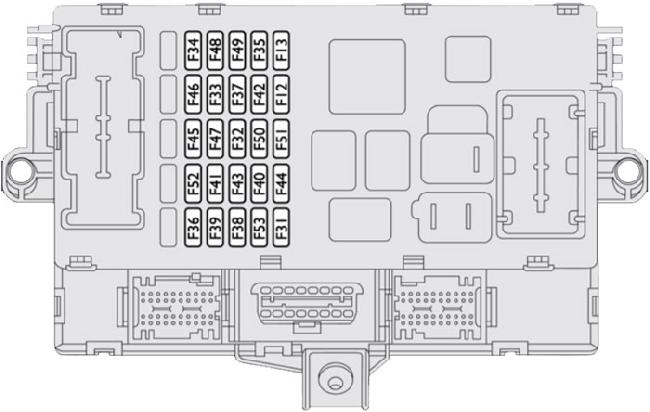 2006-2014 fiat ducato fuse box diagram