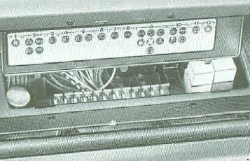 Схема предохранителей Fiat Ducato (1981-1993)