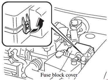 97-'02 Mazda 626 Fuse Box Diagram | 1998 Mazda 626 Fuse Box Diagram |  | knigaproavto.ru