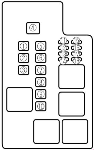 mazda 626 (1997\u20132002) fuse box diagram fuse diagrammazda 626 (1997\u20132002) fuse box diagram