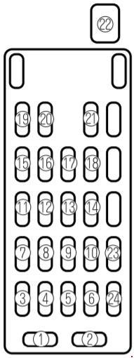mazda 626  1997 u20132002  fuse box diagram  u00bb fuse diagram