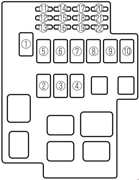 95-'02 mazda millenia fuse box diagram  knigaproavto.ru