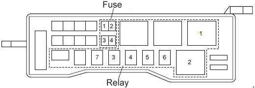 Isuzu N-Series fuse box diagram » Fuse Diagramknigaproavto.ru