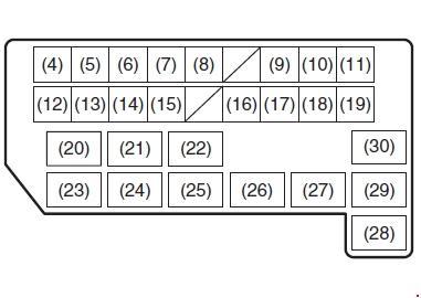 suzuki sx4 fuse box diagram (2006-2013) » fuse diagram  knigaproavto.ru