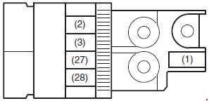 2014-2018 Suzuki / Maruti Celerio Fuse Box Diagram