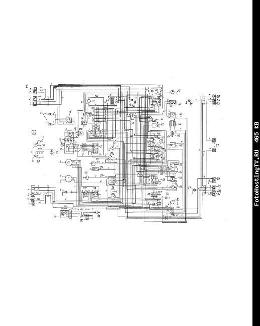 Схема электрооборудования МОСКВИЧ 2140, 2138, 2140SL