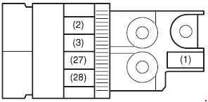 Maruti Stingray Fuse Box Diagram
