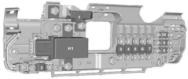 2006–2013 Ford Transit Fuse Box Diagram