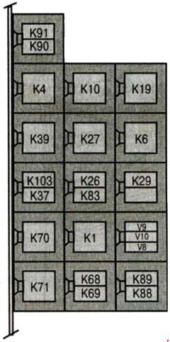 mercedes vito w638 fuse box diagram  1996 u20132003   u00bb fuse diagram Mercedes-Benz Autonomous Car t18137 knigaproavtoru 125700