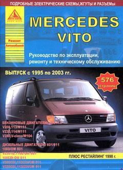 Схема предохранителей и реле Mercedes Vito (W638; 1996–2003)