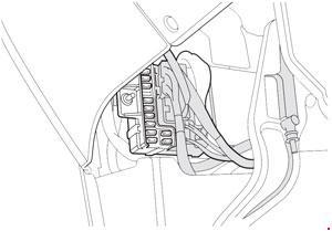 Схема предохранителей Honda Odyssey (RL1; 1999-2003)