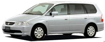 Схема предохранителей Honda Odyssey (RA6-RA9; 1999-2003)