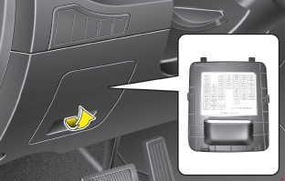 2010–2015 Kia Sportage 3 (SL) fuse diagram » Fuse Diagramknigaproavto.ru