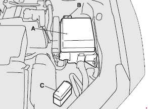 mitsubishi eclipse 4g fuse box diagram (2006-2012)