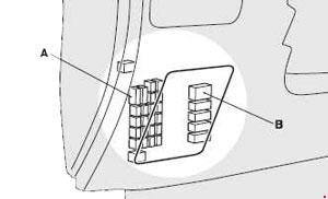 mitsubishi asx outlander sport fuse box diagram 2010. Black Bedroom Furniture Sets. Home Design Ideas