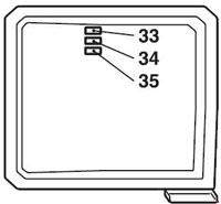 mitsubishi asx/outlander sport fuse box diagram (2010-present)