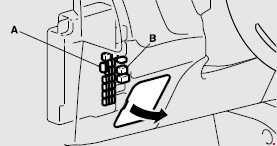 2012-2020 Mitsubishi Outlander Fuse Box Diagram